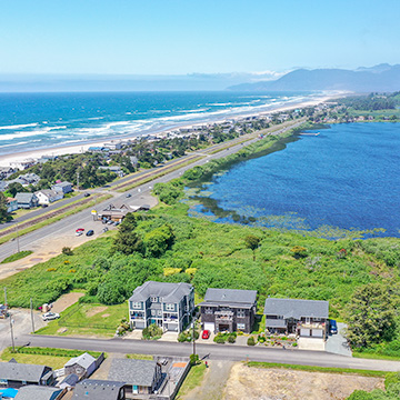 Aerial photography for real estate listing